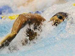 Cullen Jones competed at the Charlotte UltraSwim Grand Prix last weekend.