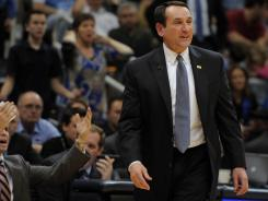 Coach Mike Krzyzewski won't be back with Team USA after the London Games. A key concern heading into the Olympics is the team's dearth of big men.