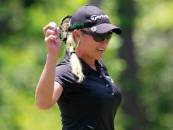 The LPGA wants to make it easier to find its players, such as Natalie Gulbis — @natalie_gulbis — on Twitter.