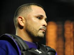 Rockies catcher Eliezer Alfonzo is a career .240 hitter in 193 games in the majors.