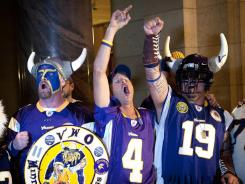 Vikings fans rejoice knowing their team is secure in Minnesota for at least the next few decades.