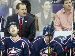 Todd Richards led the Blue Jackets to a 16-14-1 record over the final 31 games last season.