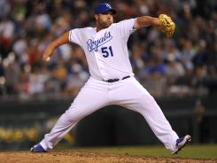 Kansas City Royals pitcher Jonathan Broxton has performed well early, but fantasy owners shouldn't count on him for the long run.