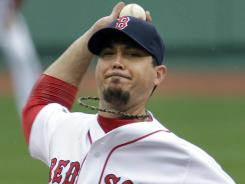 Red Sox starting pitcher Josh Beckett had nine strikeouts over seven innings in a win against the Mariners on Tuesday.
