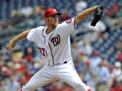 The Nationals say they'll shut down Stephen Strasburg before the season is done even if they're in a race.