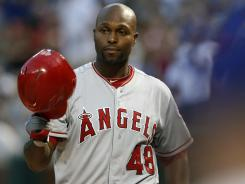 Torii Hunter was placed on the Los Angeles Angels' restricted list Monday after his teenage son was arrested.