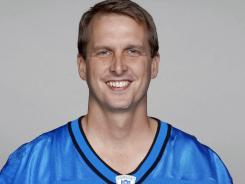 Ty Detmer, shown in a Detroit Lions uniform in 2003, won the Heisman Trophy in 1990 at Brigham Young. He was a ninth-round pick by Green Bay in 1992 and played only 56 games in an NFL career that spanned 15 years.