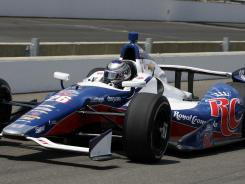 American IndyCar Series driver Marco Andretti had the fastest lap during practice Tuesday for the Indianapolis 500.