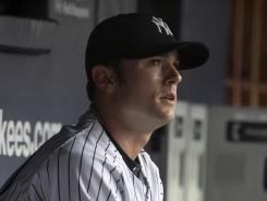 New York Yankees relief pitcher David Robertson has been placed on the 15-day DL with a strained muscle in his left ribcage.