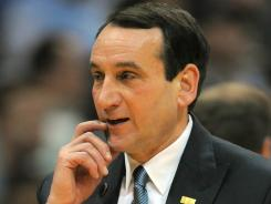 Duke coach Mike Krzyzewski received more than $7.2 million in compensation during the 2010 calendar year