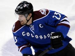 Colorado Avalanche captain Milan Hejduk was on the Avalanche's 2001 championship team.