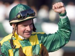 Jockey Kent Desormeaux failed a breathalyzer test Friday, and lost his ride aboard Tiger Walk in the Preakness.