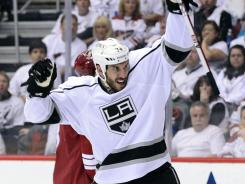 Dwight King has outscored the Coyotes 4-3 on his own in the Western Conference finals.