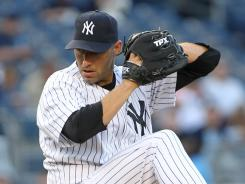 New York Yankees starting pitcher Andy Pettitte pitched eight innings in a win over the Cincinnati Reds at Yankee Stadium.