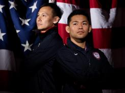 Badminton players Howard Bach, right, and Tony Gunawan, currently ranked 21st, will make U.S. history if they receive any medal at the 2012 Games.