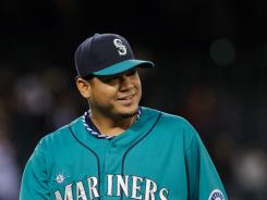 Seattle Mariners starting pitcher Felix Hernandez pitched eight innings and allowed just one run. Rival pitcher Yu Darvish pitched just four innings and allowed four runs.