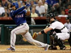 Texas Rangers shortstop Elvis Andrus didn't take long to break out of an early-season funk.
