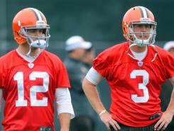 QB Colt McCoy (12) has started 21 games for the Browns over the past two seasons.