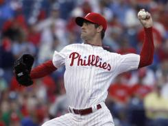 Philadelphia Phillies starting pitcher Cole Hamels has won his past seven decisions and lowered his ERA to 2.17.