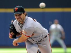 After starting the season hot, Giants pitcher Barry Zito has cooled down. In his last two starts, Zito has allowed eight combined earned runs.