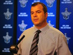 The Canucks ended speculation about whether Alain Vigneault would remain as head coach. Vancouver lost to the No. 8-seeded Kings in the first round of the NHL playoffs.