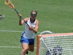 Freshman Shannon Gilroy has bolstered a veteran Florida group with 37 goals this season.