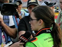 Danica Patrick has been swarmed with attention since joining NASCAR full-time.