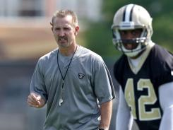 In an effort to limit big plays, new Saints defensive coordinator Steve Spagnuolo has his team using more zone coverage.