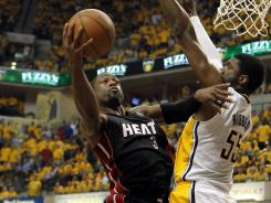 Dwyane Wade poured in 41 points to lead the Heat past the Pacers in Game 6.