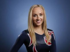 Nastia Liukin poses for a portrait at the U.S. Olympic Committee Media Summitt in Dallas on May 14.