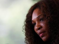 Serena Williams of the USA will be chasing her second French Open title.