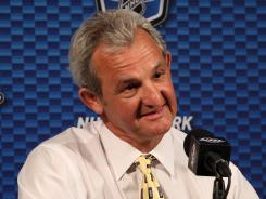 coach Darryl Sutter and his Los Angeles Kings have yet to see a series go to six games this NHL postseason.