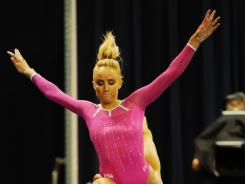 Nastia Liukin won five medals at the Beijing Games in 2008.