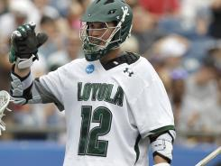 Eric Lusby has 10 goals in the past two games for Loyola.
