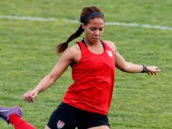 Sydney Leroux is one of six newcomers on the roster for the U.S. women's Olympic soccer team.