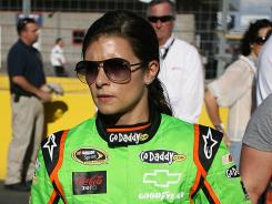 Danica Patrick gets ready for the longest race of her season Sunday night, the Coca-Cola 600.