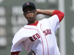 Felix Doubront pitched six innings of four-hit ball for the win against the Tigers.