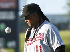 Manny Ramirez completed his 50-game suspension for violating baseball's policy on performance-enhancing dugs.