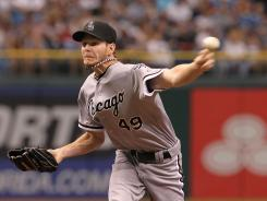 Chicago White Sox starting pitcher Chris Sale has allowed just two earned runs in his last three starts.