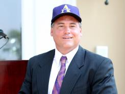 Jay Hopson was introduced as the Alcorn State football coach Monday.