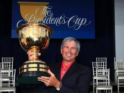 Fred Couples was chosen for a third time as U.S. Presidents Cup captain.