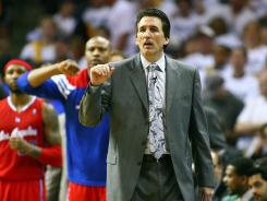 Los Angeles Clippers head coach Vinny Del Negro will return next season after piloting the team to a 72-76 record in two seasons.