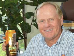 Jack Nicklaus and his Golden Bear line of beverages.