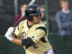 Purdue second baseman Eric Charles was suspended one game for his role in the fight that broke out in the Big Ten championship game against Indiana last Saturday.