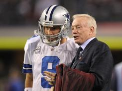 Cowboys owner Jerry Jones hopes QB Tony Romo can get him a fourth Super Bowl ring.