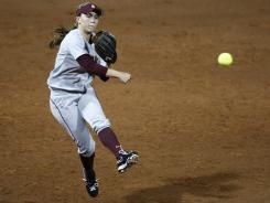 In addition to leading the defending national champion in virtually every offensive category, Arizona State's Katelyn Boyd is fielding at a .965 clip at shortstop.