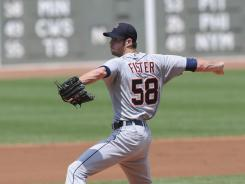 After showing promise last season with 11 wins and an ERA of 2.83, Fister has yet to earn a win in six starts this season.