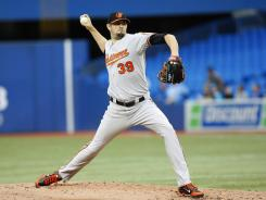 Jason Hammel had given up three home runs in nine starts before giving up four to the Blue Jays on Wednesday.