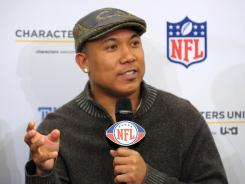 Hines Ward retired in March after 14 seasons with the Pittsburgh Steelers.