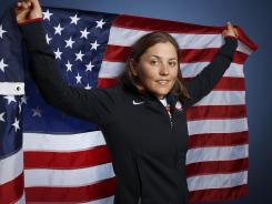 Debbie Capozzi will compete in women's match racing at the London Olympics. She poses during a portrait session at the U.S. Olympic Committee Media Summit in Dallas on May 14.